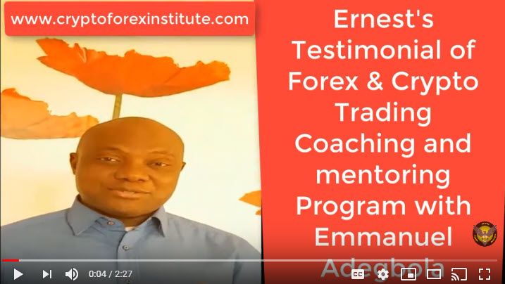 Ernest Testimonial of Emmanuel Adegbola's Coaching Program