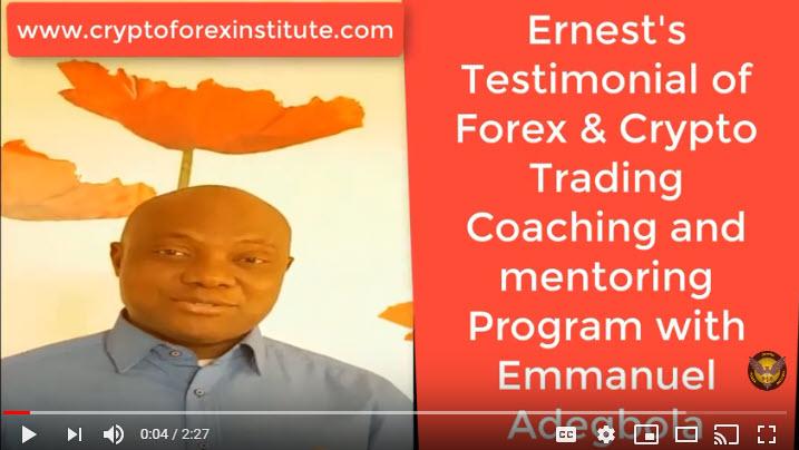 Ernest Testimonial of Emmanuel Adegbola's Coaching Program