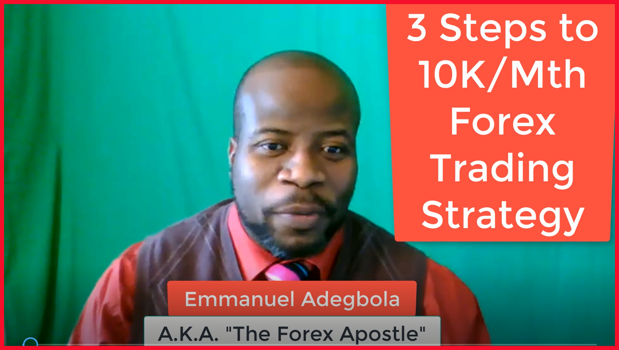 3 Steps to $10,000 Per Month Forex Trading Strategy