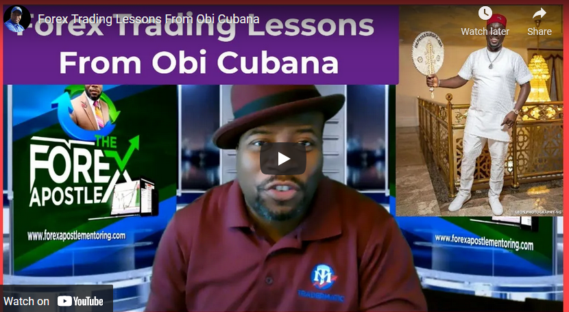 Forex Trading Lessons From Obi Cubana